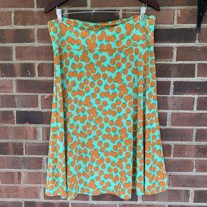 Like new LuLaRoe skirt orange print